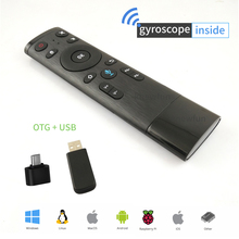 Knewfun Gyro Air Mouse with Microphone Universal Flying Remote Control for Presentation Android TV Box Windows