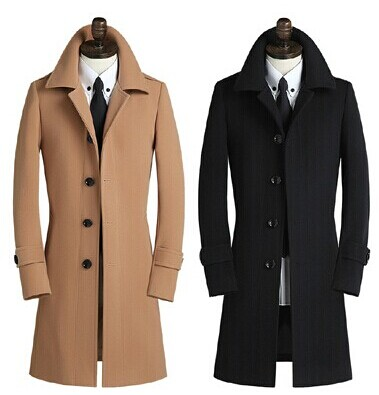 Knowledgeable 2017 Fashion Wool Outerwear Coat Men's Single Breasted Cashmere Plus Size S-m-l-xl-2xl-3xl-4xl-5xl-6xl-7xl-8xl-9xl Woolen Trench
