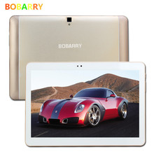 BOBARRY Newest 10.1 inch 4G Lte The Tablet PC Octa Core 4G RAM 64GB ROM Dual SIM Card Android 6.0 Tab GPS bluetooth tablets10.1