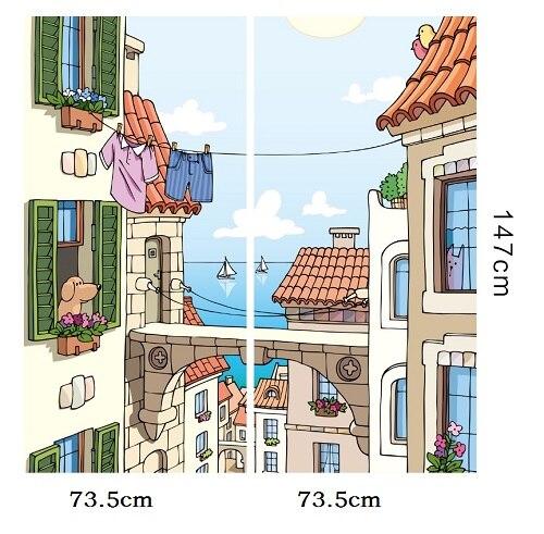 Film de fenêtre de taille personnalisée