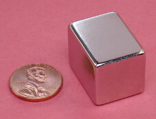 NdFeB Magnet Block 1x3/4x3/4 thick Strong Neodymium Permanent Magnets Rare Earth Magnets Grade N42 NiCuNi Plated earth 2 society vol 4 life after death