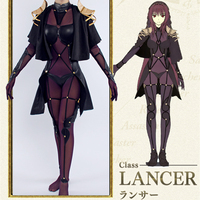 Fate/Grand Order Scathach Cosplay Costume Full Set Women Sexy Costume COSPLAYONSEN