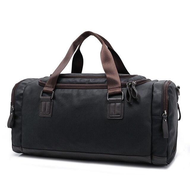 72e9bf7b9a8 Mannen handtas Grote capaciteit reistas mode schouder handtassen Designer  mannelijke Messenger Bagage tas Toevallige Crossbody reistassen