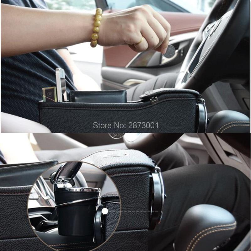 Car Seat Crevice Pockets Leak-Proof Storage Box for renault bmw e39 passat b5 peugeot 307 kia rio opel astra h skoda octavia car seat storage bag box crevice storage box organizer for vauxhall astra mercedes benz vw t4 audi q5 renault scenic 2 bmw f34