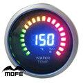 "Mofe logo original 52mm 2 ""20 unids analógico digital led indicador de temperatura del agua con motor paso a paso"