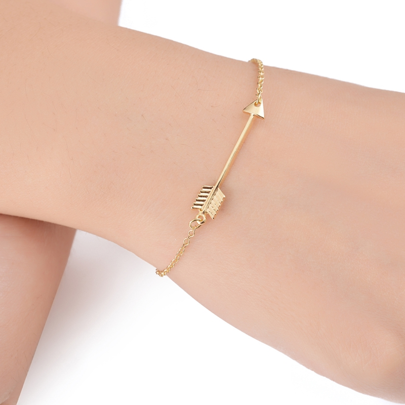 Jisensp Unique One Direction Arrow Charm Bracelets para Mujer - Bisutería - foto 4
