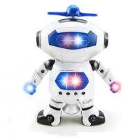 BS S Electronic Walking Dancing Smart Space Robot Astronaut Kids Music Light Toy