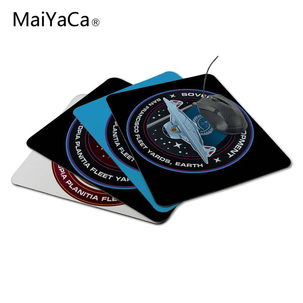MaiYaCa Sovereign Development star trek Best Anti-Slip Laptop PC Me Pad Mat Not Overlock Mouse Pad