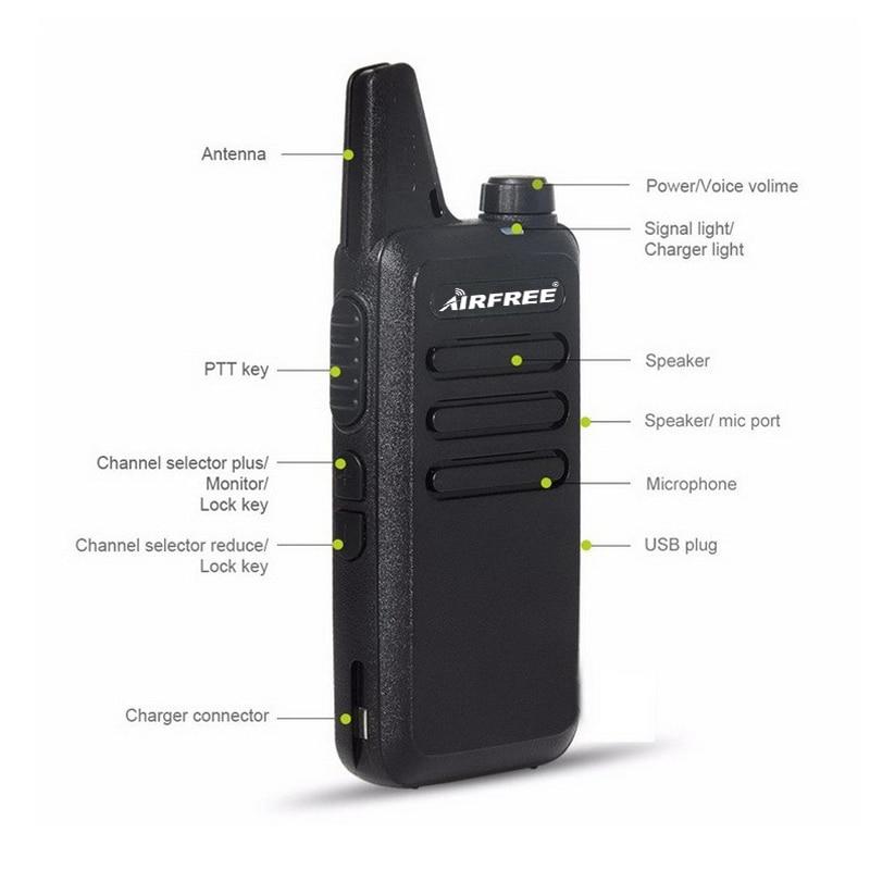 Black Airfree AP-100 KD-C1 radio (2)