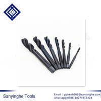 7 Pcs/Set High speed steel 6542  Nitriding  spiral screw taps M3-M12