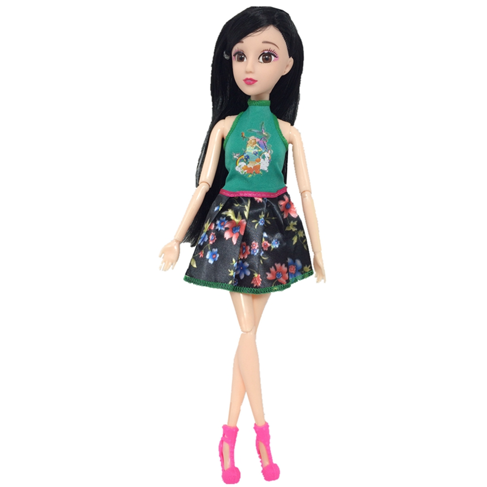 Handmade New Baby Doll Clothes Fashion Princess Girl Doll Dress Evening Party Ball Gown Dress for 29cm 11inch Barbies Doll Suits (7)