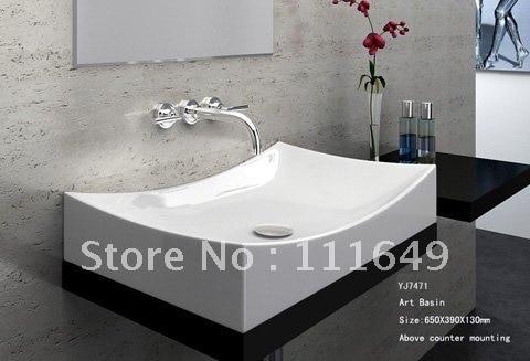 Badkamer Wastafel Kast : Badkamer keramische aanrechtblad rechthoekige washand zinken