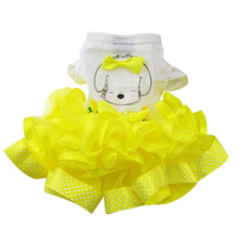 Nice, charming puppy princess dress in different colors