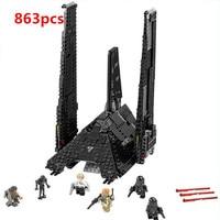 05049 LEPIN STAR WARS Krennics Imperial Shuttle Model Building Classic Enlighten Figure Toys For Children Compatible