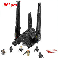 05049 LEPIN STAR WARS Krennics Imperial Shuttle Model Building Classic Enlighten Figure Toys For Children Compatible