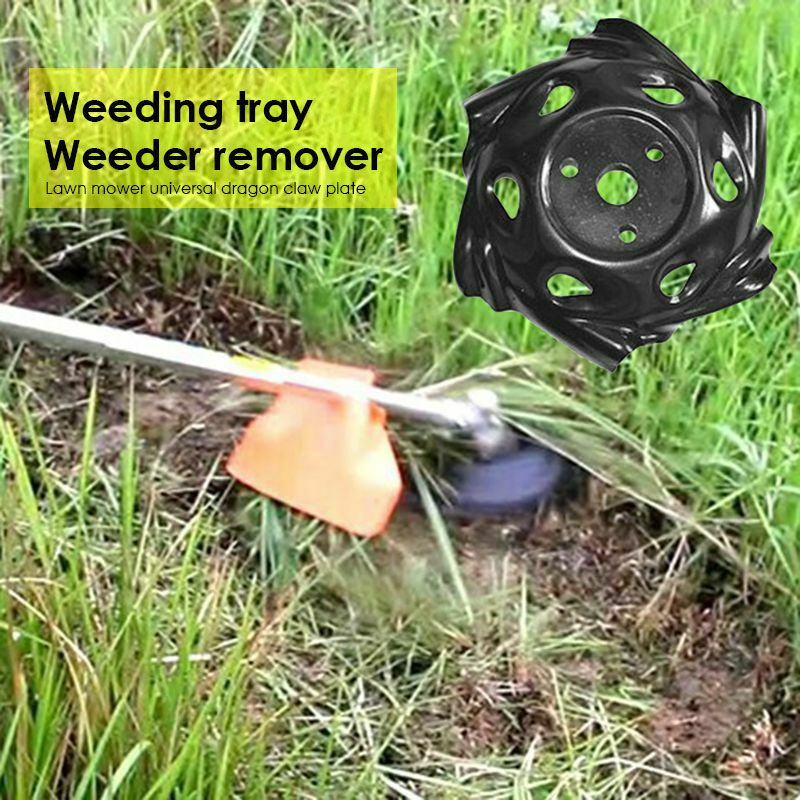 Mowing Head Weeding Tray Lawn Mower Rooter Garden Tools Durable Updated Coil Chain
