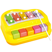 Baby musical orgatron toy violin small musical instrument knock piano toys 1 3 years old