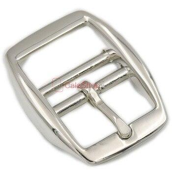 """5 unids/lote 1 """"25mm correa ajustable hebilla de rodillo central doble barra hebillas fundido a presión bolsos de cinturón de cuero"""