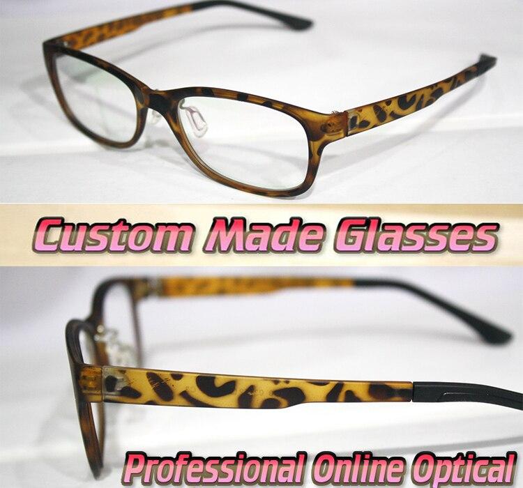 Online Shop vogue Leopard frame shopping party Optical Custom made ...