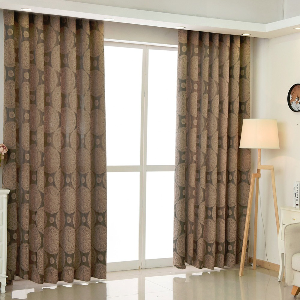 online get cheap modern drapes aliexpresscom  alibaba group - free shipping curtain luxury room curtain short curtains european jacquardkitchen living brown drapes curtains modern