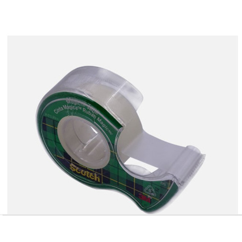 3M Scotch-Brite Adhesive Tape Dispenser Handsel A Roll Of Invisible Magic Tape 810 19mm*4m Tape Office Student Stationery
