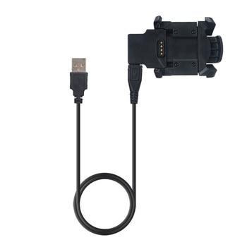 كابل شحن للغارمين Fenix3 HR Fenix 3 Quatix3 Tactix برافو ساعة ذكية حوض شحن USB كليب مزامنة البيانات مهد شاحن