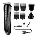 KEMEI KM-1407 перезаряжаемая электрическая машинка для стрижки волос в нос многофункциональная Мужская машинка для стрижки волос профессиональ...