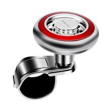 Автомобиле гибкий Простая установка Spinner вращения анти-скольжения Универсальный силиконовый усилитель руля инструмент с рукояткой