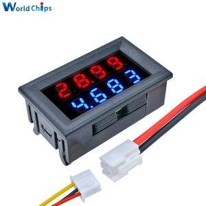 Image 1 - Kırmızı mavi çift dijital LED AMP ekran DC voltmetre ampermetre 4 Bit 5 teller DC 200V 10A voltaj Volt akım ölçer güç kaynağı
