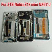 100% Original Working Sensor LCD Display Touch Screen Digitizer Assembly + Frame For ZTE Nubia Z18 mini z18mini NX611J NX611H