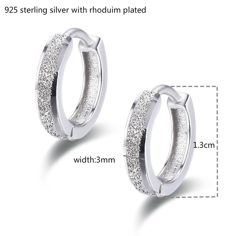 So Chic Jewels Childrens 925 Sterling Silver Watermelon Ear Studs