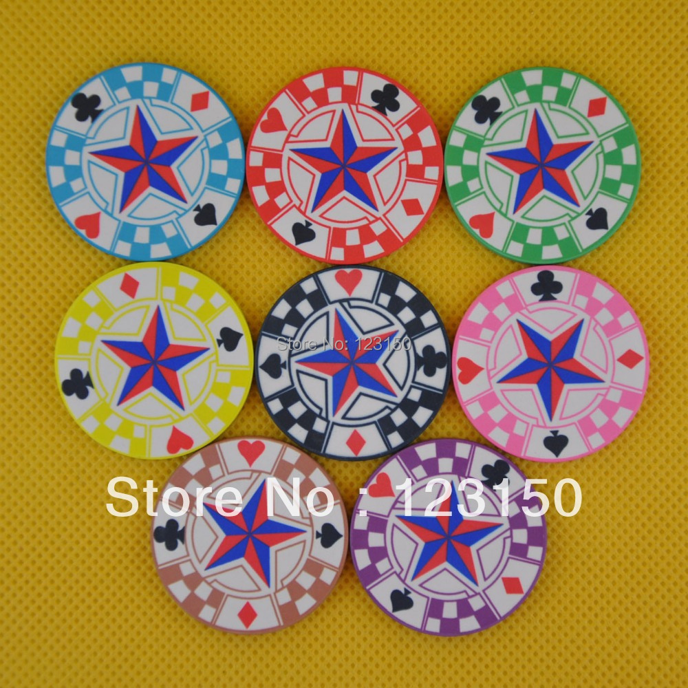 CP-015 Casino Poker Chips Ceramic Professional Star In Stock for Sale Free Shipping