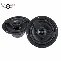 Pair 6 Inch Car Coaxial Speakers 25W 6 Ohm Car Speakers Audio Woofer Component System Full Range Stereo Sounds
