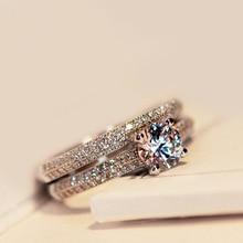 Victoria Wieck настоящий Пасьянс 5 мм искусственный бриллиант 925 пробы серебро Женское Обручальное кольцо набор обручальное кольцо Размер 4-9
