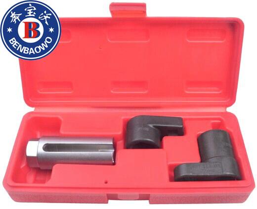 """3 pc conjunto de ferramentas chave soquete de Sensor de oxigênio O2 1/2 3/8 Auto Car 7/8 """" 22 mm"""