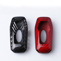 TTCR II Carbon Fiber Smart Remote Key Fob Case Shell Holder Cover For Ford Mustang 2015 2017/ Explorer 2016 2017 3 button