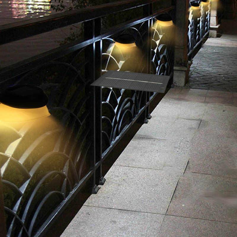 Светодиодный солнечный свет 9 светодиодный s садовый фонарик с защитой от воды уличная настенная лампа лампы Наружная безопасность солнечные ночник для патио