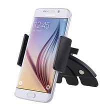 Universal Auto Car CD Slot Phone Holder Adjustable Cell Mobile Holders For Iphone 6 Samsung
