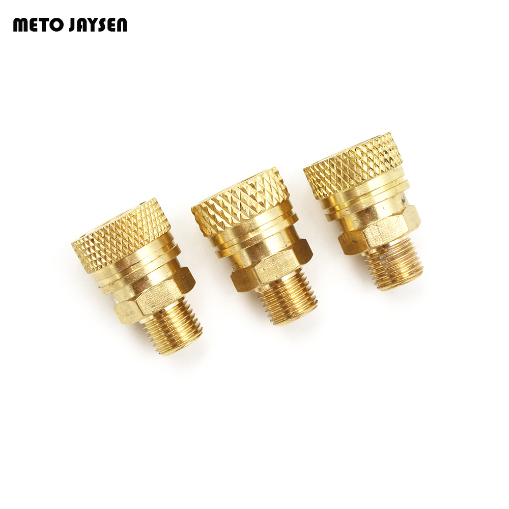 PCP Airforce Paintball 8MM M10x1 Male Thread Quick Disconnect Copper Coupling Sockets Air Refilling 30MPA 3PC=1 LOT