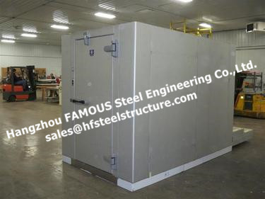 Individual Quick Freezer Cold Room Chambers For Food Industries, Meat, Fish Walk In Cold Storage System