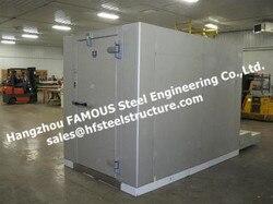 Individuele quick vriezer koude kamer chambers voor voedingsindustrie, vlees, vis lopen in koude opslag systeem