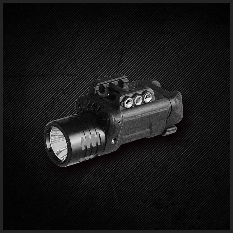 Picatinny ruger p94 laser sigh and flashlight flashlight combo