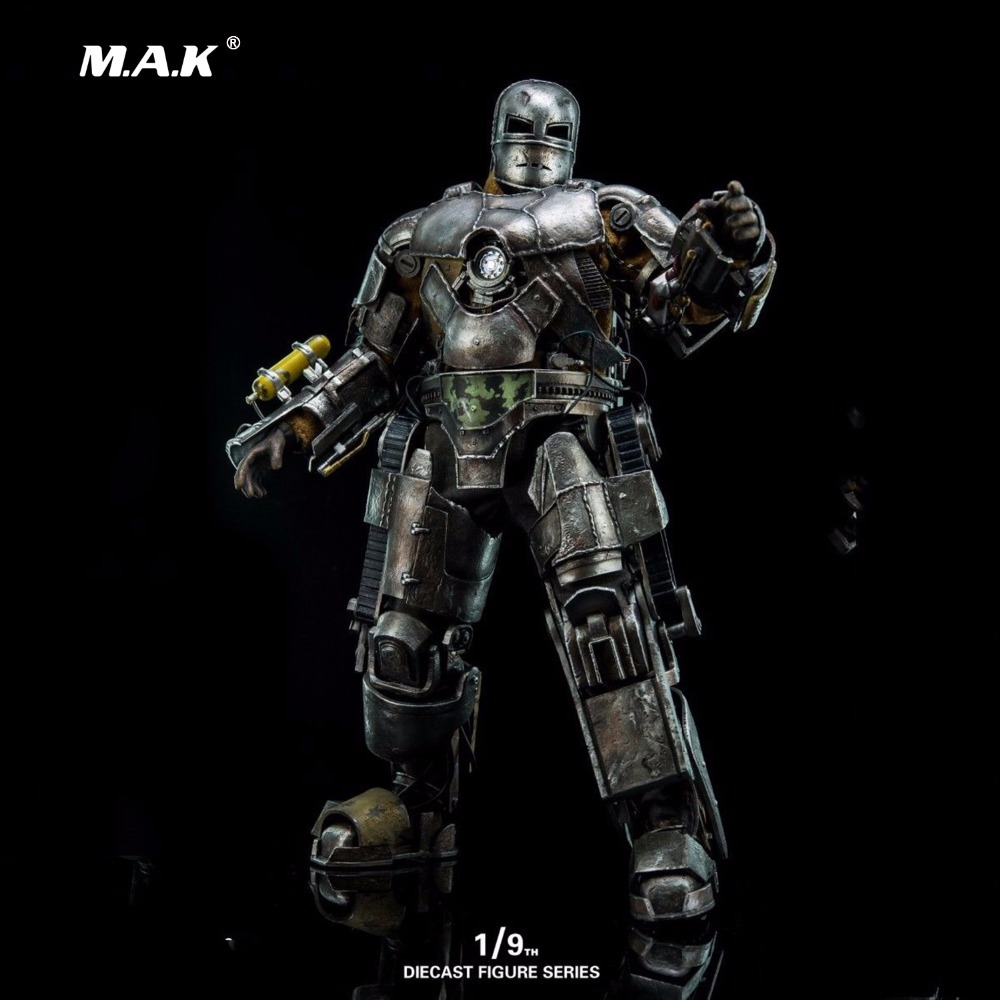 1/9 Diecast Figure Series DFS023 Iron Man Mark1 Collectible Dolls Figures Collections