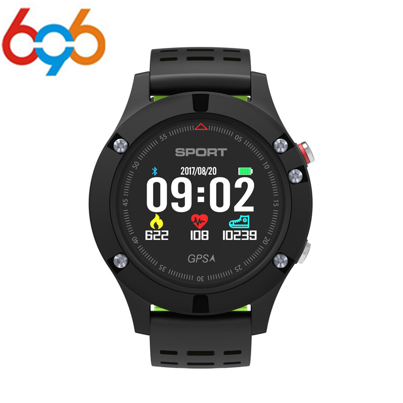 696 NO.1 F5 GPS Smart Watch MTK2503 Altimeter Barometer Thermometer Bluetooth 4.2 Smartwatch Wearable Devices for IOS Android цена