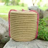 1mm/10mm/22mm/35mm/40mm/55mm/60mm diameter 1 30 meters thick hemp linen rope tied packing ropes DIY rope home decoration rope