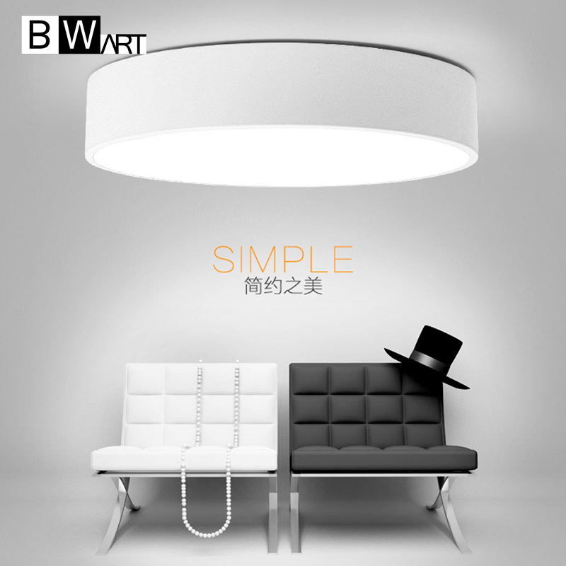 BWMRT Remote Control Dimmable Lustre modern LED ceiling lights for living room bedroom home decoration ceiling lamp noosion modern led ceiling lamp for bedroom room black and white color with crystal plafon techo iluminacion lustre de plafond