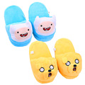 Adventure time Jake Finn Plush Shoes Slipper Adult indoor warm slippers Plush Toys for Children Women Men 27cm