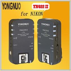 YONGNUO YN-622 N II YN622N II 2.4G HSS1/8000s for Nikon Wireless Speedlite Flash Trigger ETTL i-TTL HSS Work with YN-560TX RF605