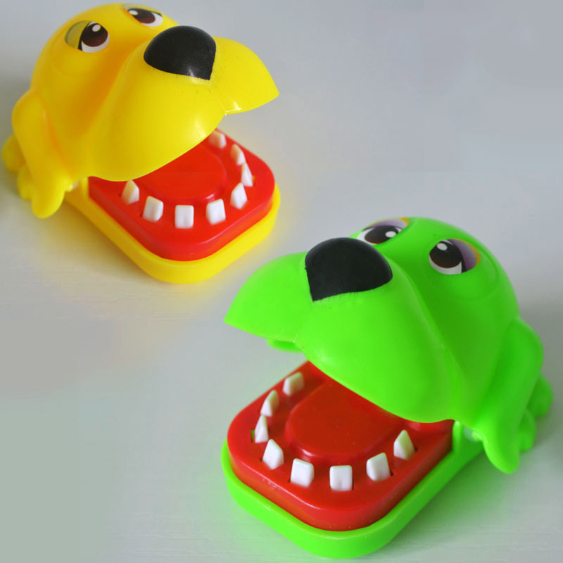 Funny Toy Toothpaste Dog Biting Dog Puzzle Fun Funny Toys Fit Babys hand-eye coordination Ability Baby Gifts