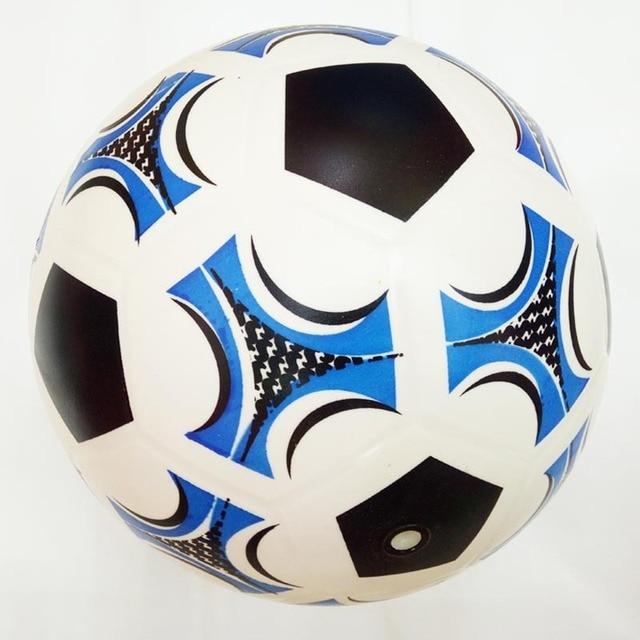 cdccb5f6e0ae9 21 cm Bola de Futebol Crianças esportes indoor e ao ar livre Inflável Bola  quicando Bola